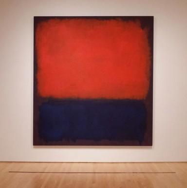 Betere Abstracte kunst van Mark Rothko MD-75