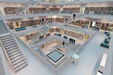 De nieuwe bibliotheek - Moderne bibliotheek ...